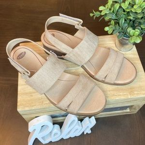 🆕Dr. Scholl's freestone tan sandals